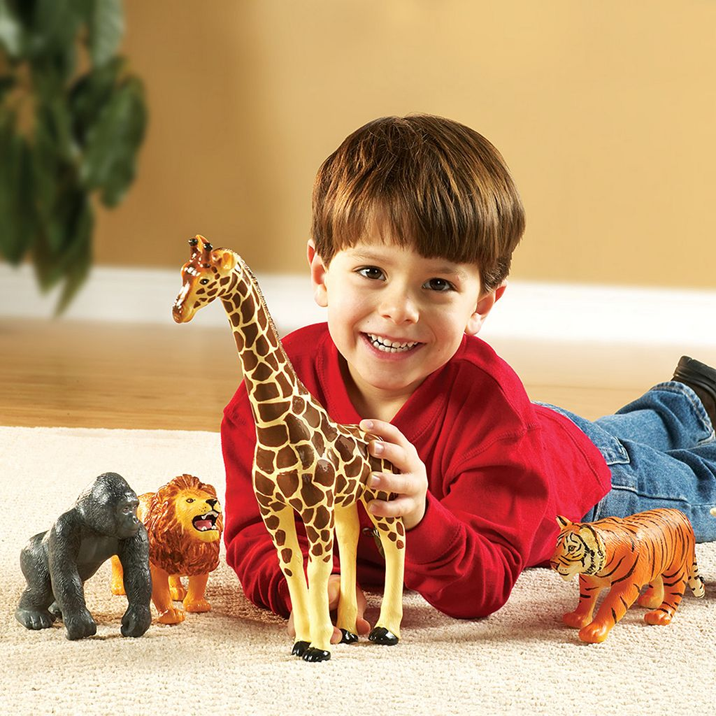 Learning Resources 5-pc. Jumbo Jungle Animals