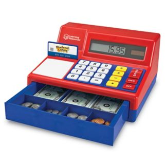 Pretend & Play Calculator Cash Register by Learning Resources