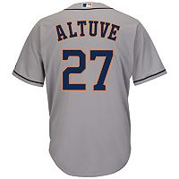 Men's Majestic Houston Astros Jose Altuve Cool Base Replica MLB Jersey
