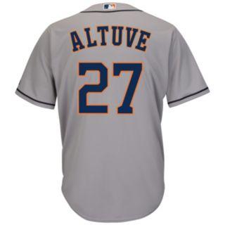 Men's Majestic Houston Astros Jose Altuve Cool Base Replica MLB Jersey