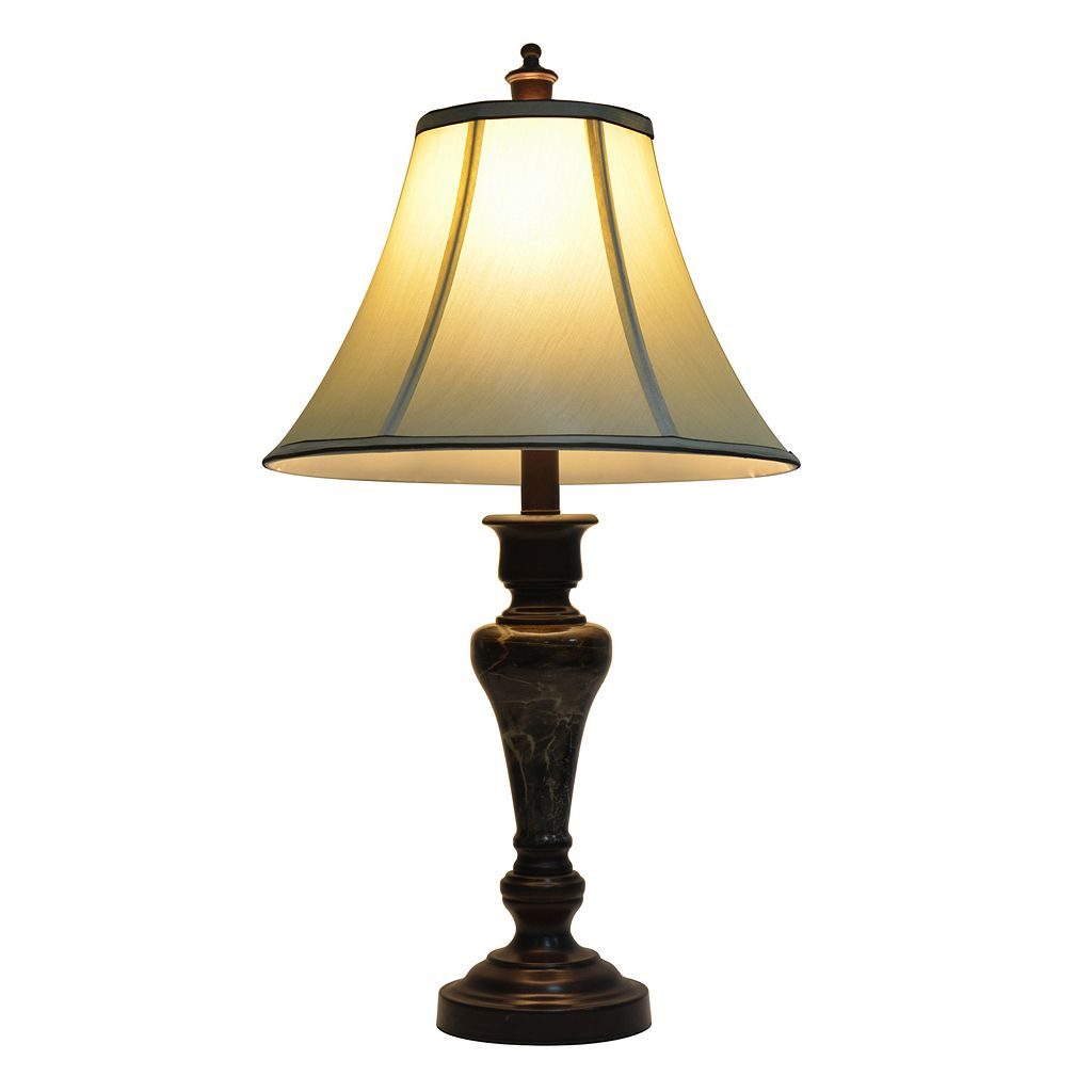 Decor Therapy Bronze Table Lamp