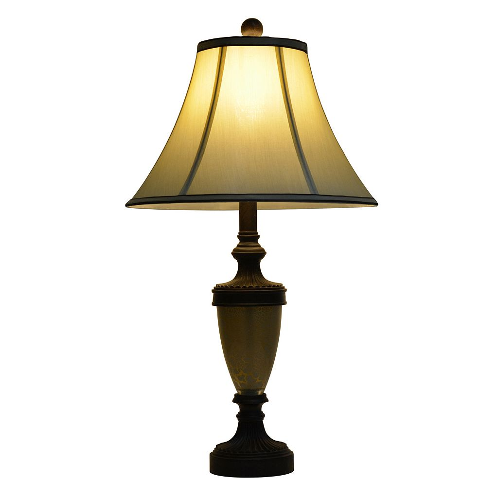 Decor Therapy French Verdi Table Lamp