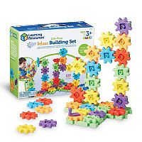 Learning Resources Gears! Gears! Gears! 100 pc Deluxe Building Set