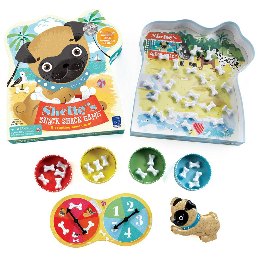 Educational Insights Shelby's Snack Shack Game