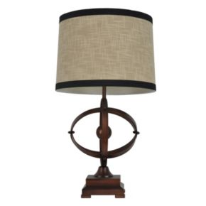 Decor Therapy Ring Table Lamp