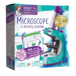 Educational Insights Nancy B's Microscope & Activity Journal Set