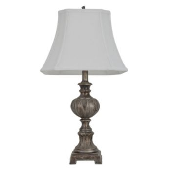 Decor Therapy Carved Bubble Table Lamp