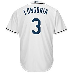 Men's Majestic Tampa Bay Rays Evan Longoria Cool Base Replica MLB Jersey