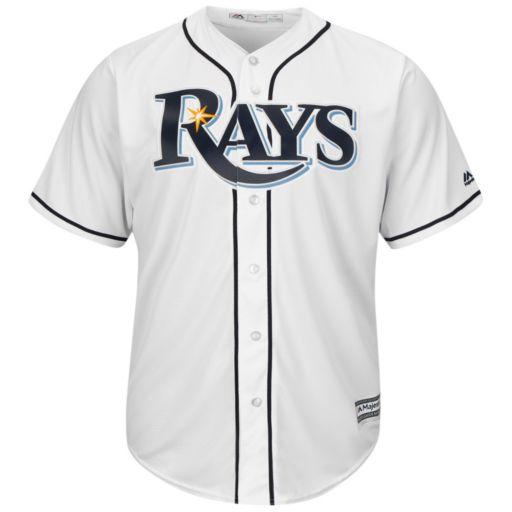 Men's Majestic Tampa Bay Rays Evan Longoria Cool Base Replica MLB Jersey