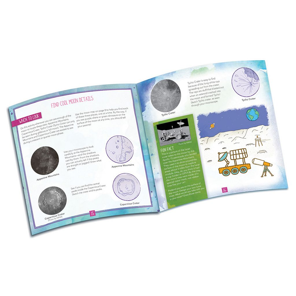 Educational Insights Nancy B's Moon Scope & Sky Gazer's Activity Journal Set