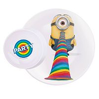 Zak Designs Despicable Me 2 Minions 11-in. Melamine Plate