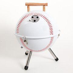 Gibson Baseball BBQ Portable Charcoal Grill