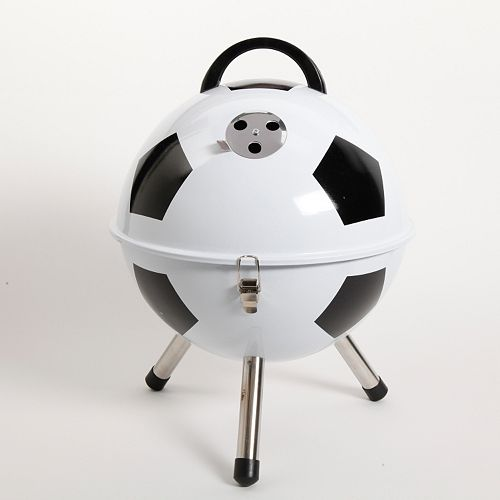 Gibson Soccer Ball BBQ Portable Charcoal Grill