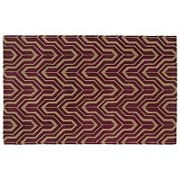 Kaleen Revolution Chevron Wool Rug