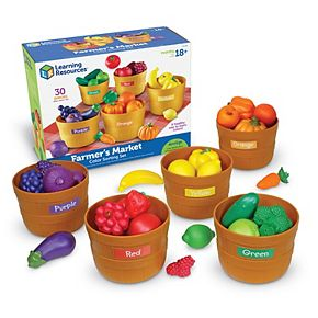 Farmer's Market Color Sorting Set by Learning Resources