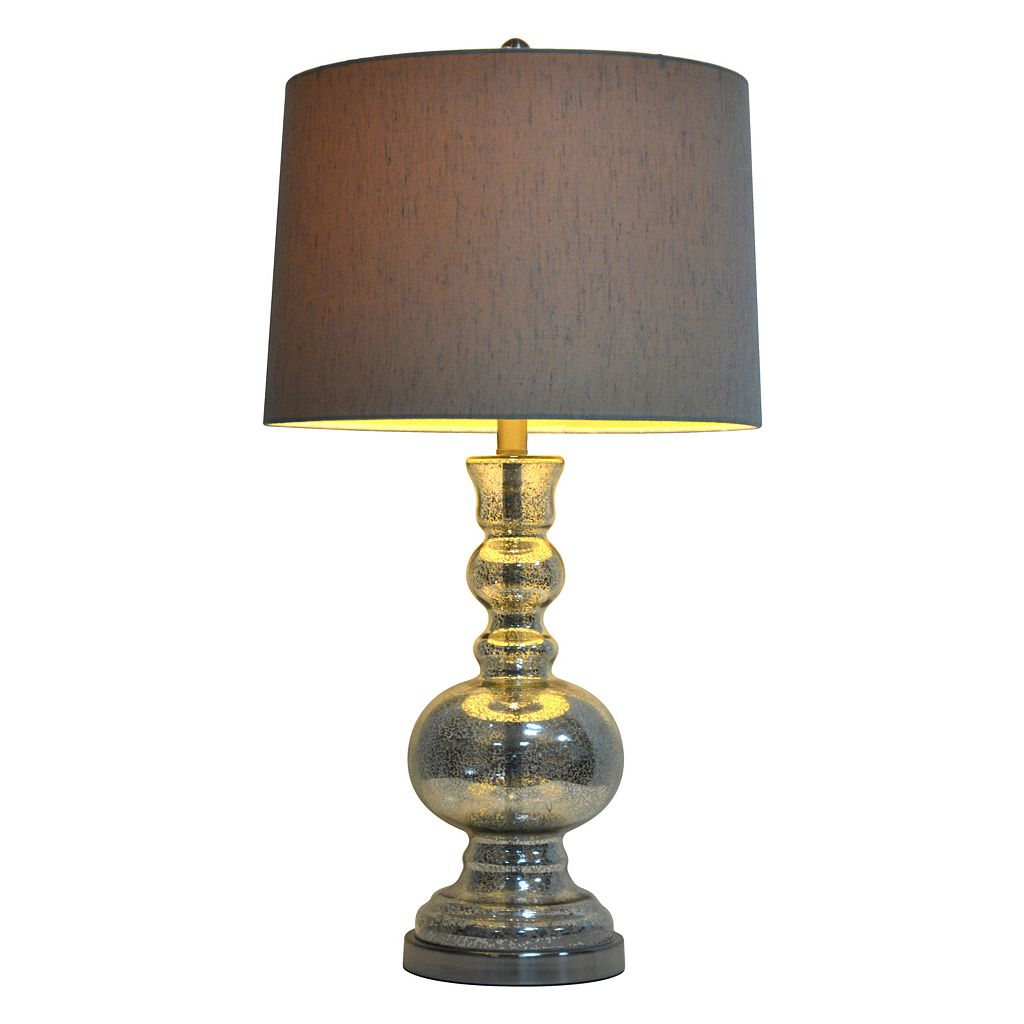 Decor Therapy Mercury Glass Table Lamp
