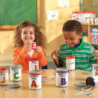 Alphabet Soup Sorter Set by Learning Resources