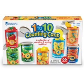 1 to 10 Counting Cans Sorter Set by Learning Resources