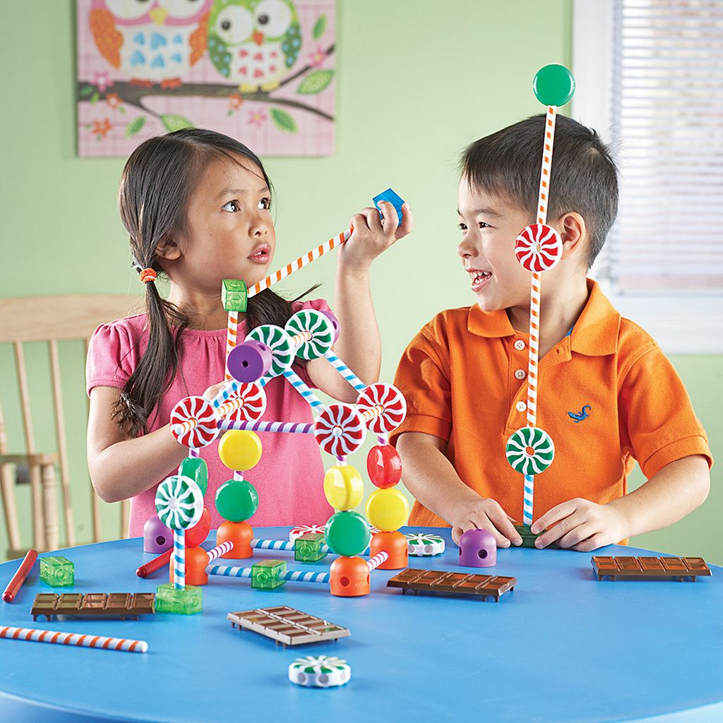 Candy Construction Building Set by Learning Resources