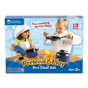 Learning Resources Play & Pretend Pro Chef Set