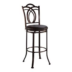 Linon Calif Swivel Bar Stool