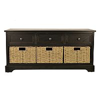 Decor Therapy 4 pc Montgomery Storage Bench Set