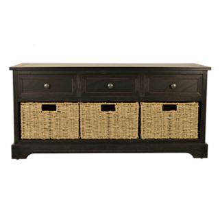 Decor Therapy 4-piece Montgomery Storage Bench Set