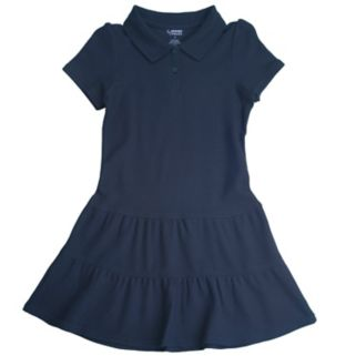 Girls 7-14 French Toast School Uniform Pique Polo Dress