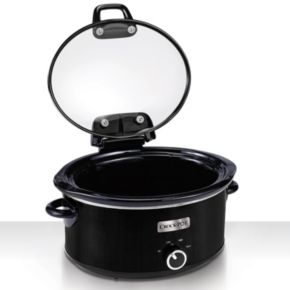 Crock-Pot 6-qt. Hinged-Lid Slow Cooker