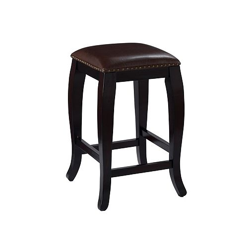 Linon San Francisco Square Top Counter Stool