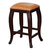 Linon San Francisco Square Counter Stool