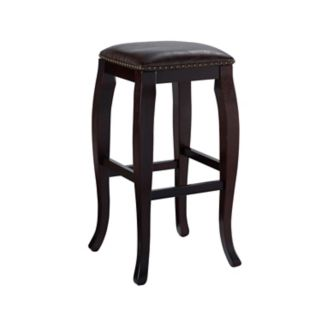 Linon San Francisco Square-Top Bar Stool