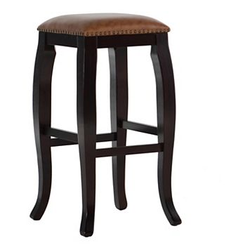 Linon San Francisco Square Top Bar Stool