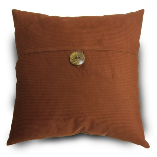 Topcord Button Throw Pillow