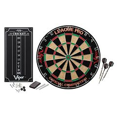 Viper League Pro Sisal Steel Dartboard Kit