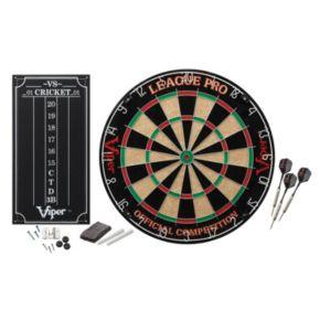 Viper League Pro Sisal Steel Dartboard Kit