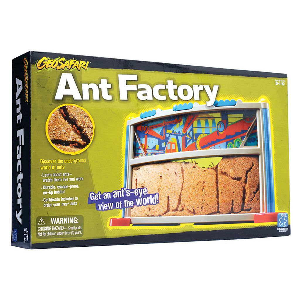 Educational Insights GeoSafari Ant Farm Factory