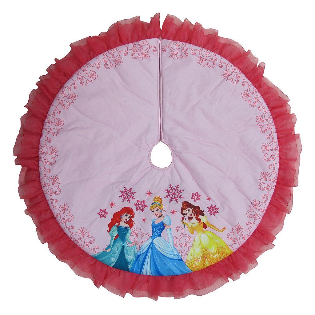 Disney Princess Ariel, Cinderella & Belle Christmas Tree Skirt