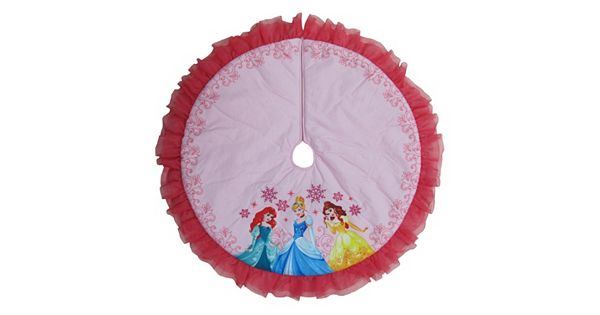 Disney Princess Ariel Cinderella Amp Belle Christmas Tree Skirt