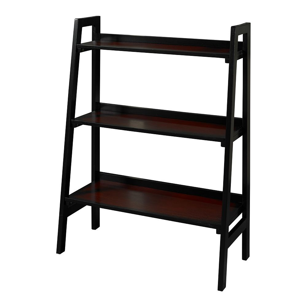Linon Camden 3-Shelf Bookcase