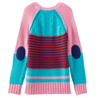 Design 365 Heart High-Low Sweater - Girls 4-6x