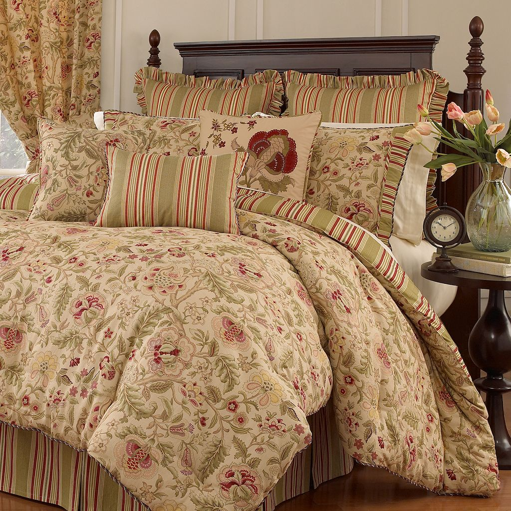 Waverly Imperial Dress 4-pc. Reversible Comforter Set - Queen