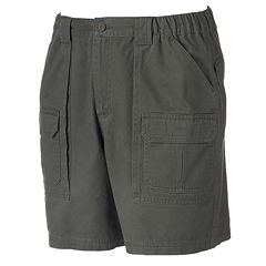 Men's Croft & Barrow® Side Elastic Cargo Shorts