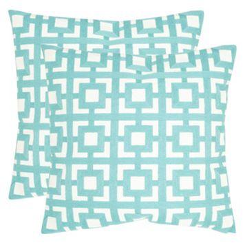 Safavieh 2-piece Emily Throw Pillow Set
