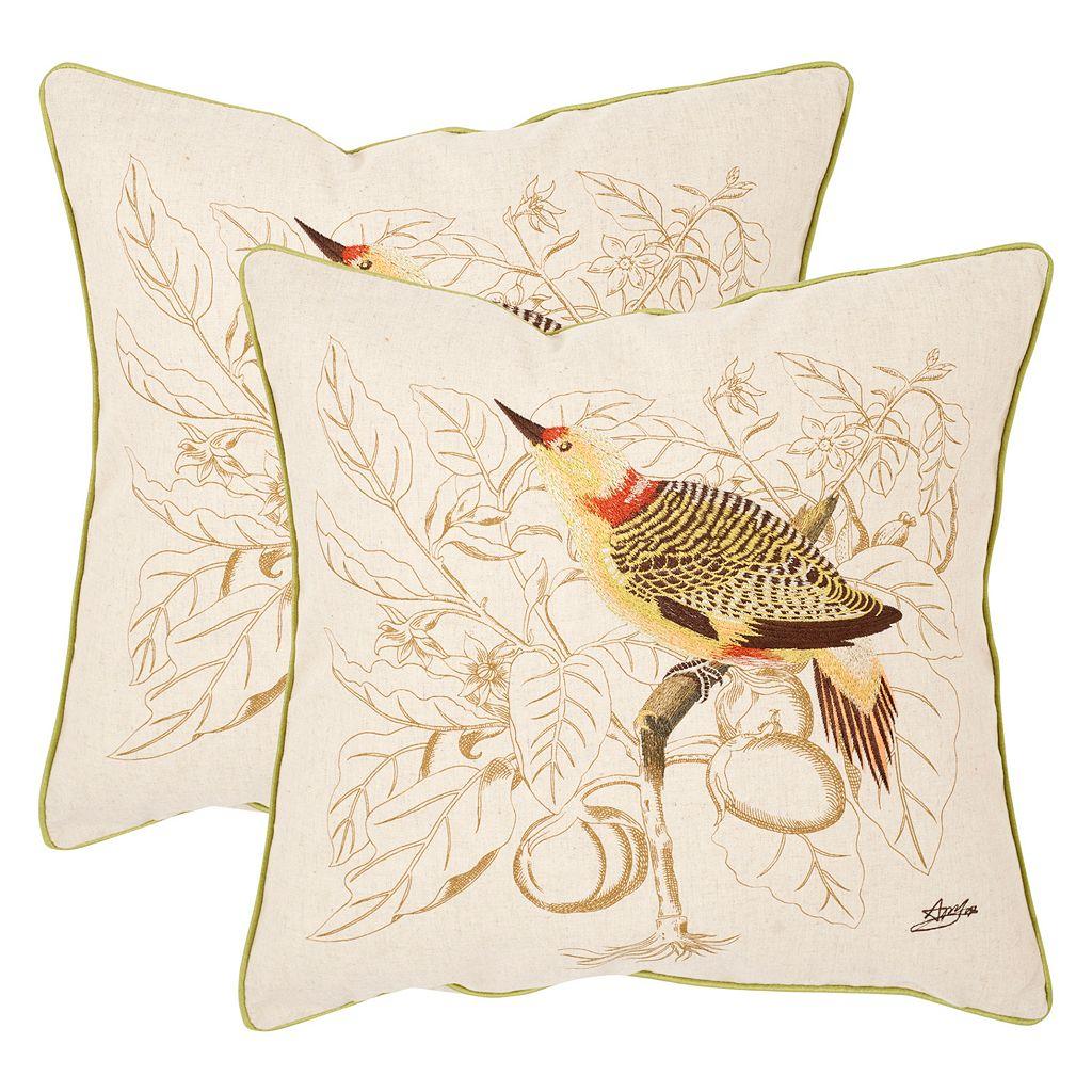 Safavieh 2-piece Esty Throw Pillow Set
