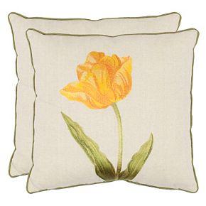 Safavieh 2-piece Meadow Throw Pillow Set