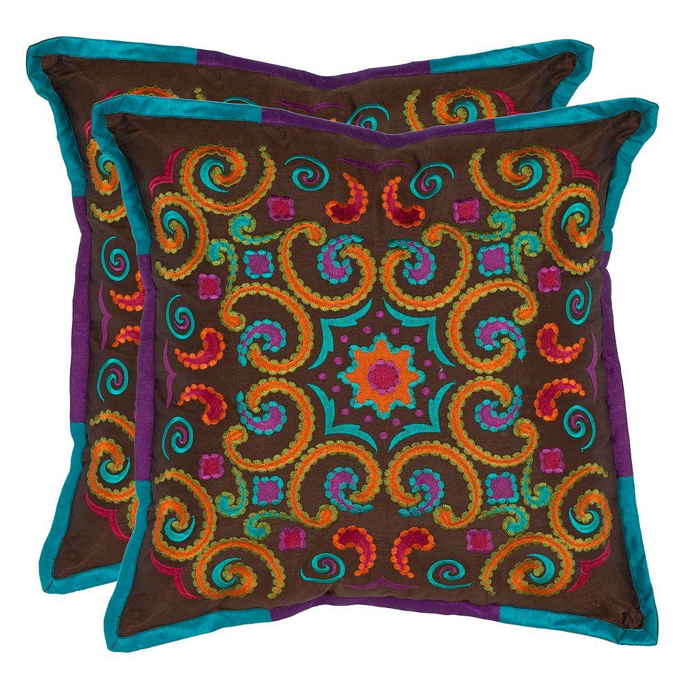 Safavieh 2-piece Calycopis Throw Pillow Set