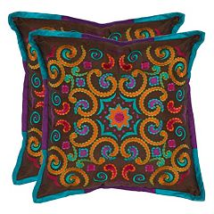 Safavieh 2-piece Calycopis Throw Pillow Set