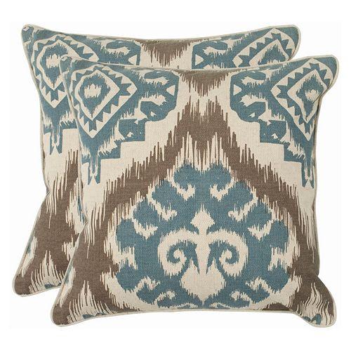Safavieh 2-piece Amiri Throw Pillow Set