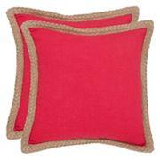 Safavieh 2 pc Sweet Sorona Throw Pillow Set
